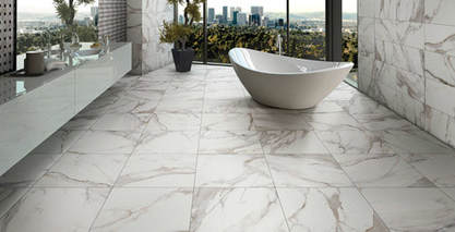 Who Is Better Calacatta Porcelain Tile Vs Ceramic Wall